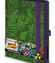 x_sr72208 Marvel Comics Premium Notebook A5 Retro Hulk