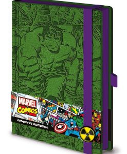 x_sr72208 Marvel Comics Premium Notebook A5 Retro Hulk