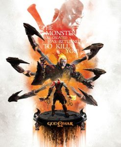 d_igp-sony07 God of War Art Print Monster 35 x 28 cm