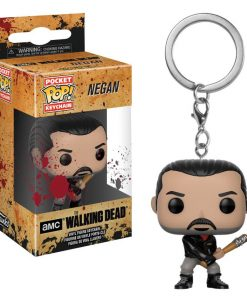 x_fk21189 The Walking Dead POP! Vinyl Keychain Negan 4 cm