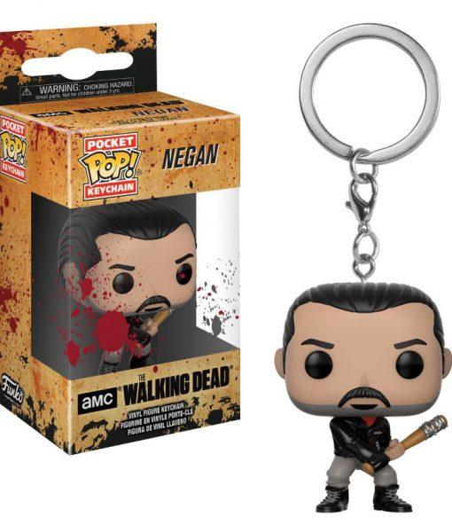 x_fk21189 The Walking Dead POP! Vinyl Keychain Negan 4 cm