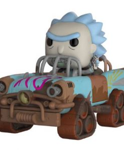 x_fk28456 Rick and Morty POP! Rides Vinyl Figure Mad Max Rick 15 cm