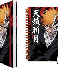 x_gye-nba0044 Bleach Notebook A5 Ichigo Mask Case