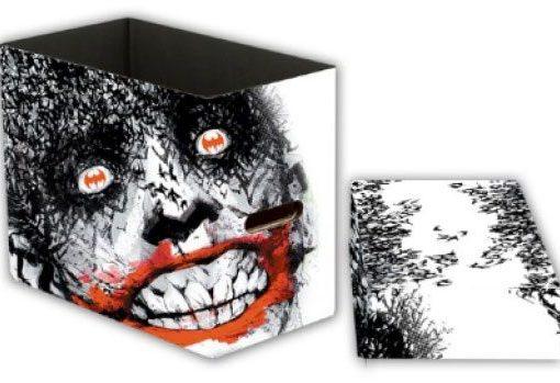 x_neca61459 DC Comics Storage Boxes Joker Bats 23 x 29 x 39 cm