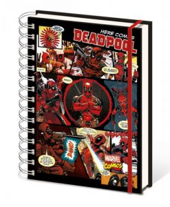 x_sr72146 Marvel Comics Notebook A5 Deadpool