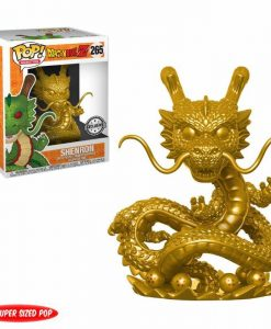 x_fk25953 Dragonball Z POP! Animation Vinyl Figure Shenron (Gold) 15 cm