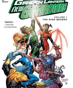 x_dcjun120235 DC Comics Comic Book Green Lantern New Guardians Vol. 1 Ring Bearer by Antony Bedard english