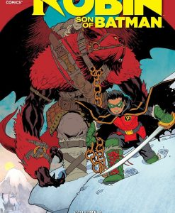 x_dcnov150267 DC Comics Comic Book Robin Son Of Batman Vol. 1 Year Of Blood by Patrick Gleason english