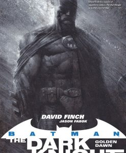 x_dcsep160336 DC Comics Comic Book Batman The Dark Knight Vol. 1 Golden Dawn Deluxe by David Finch english