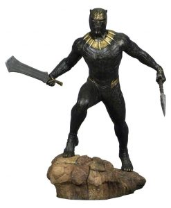 x_diamjan182376 Black Panther Movie Marvel Gallery PVC Statue Killmonger 23 cm