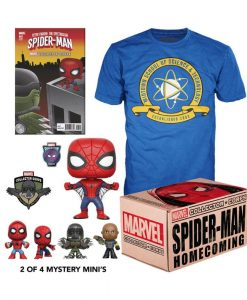 x_fkmvcbox-smanh Marvel Collector Corps Box Spider-Man Homecoming