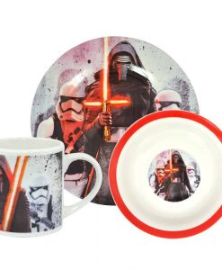 x_ren25123_a Star Wars Episode VII Breakfast Set Kylo Ren & Trooper