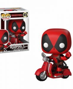 x_fk30969 Deadpool POP! Rides Vinyl Figure Deadpool & Scooter 9 cm
