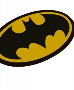 x_sdtwrn02989 DC Comics Doormat Batman Logo Oval-Shaped 43 x 72 cm