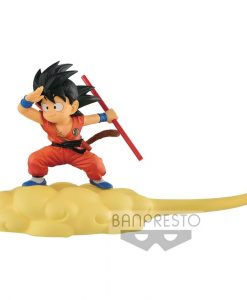 x_banp81019 Dragonball Kintoun Figura - Son Goku on Flying Nimbus Normal Color Ver. 13 cm