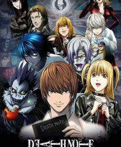 x_gye-fp3963 Death Note Poster Pack Collage 61 x 91 cm