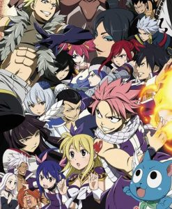 x_gye-fp4544 Fairy Tail Season 6 poszter - Key Art