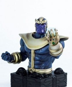 x_smb003 Marvel Bust Szobor - Thanos The Mad Titan 16 cm