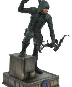 x_diamfeb182294 Arrow TV Series DC Gallery PVC Szobor - Green Arrow 23 cm