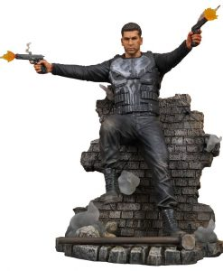 x_diamjan182377 Punisher TV Series Marvel Gallery PVC Szobor - Punisher Version 2 23 cm