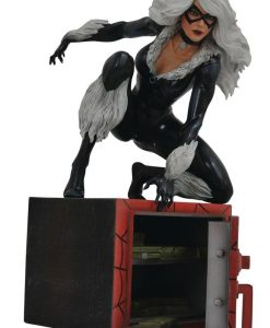 x_diamoct182225 Marvel Comic Gallery PVC Szobor - Black Cat 23 cm