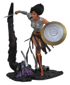 x_diamsep182334 DC Comic Gallery PVC Szobor - Dark Knights Metal Wonder Woman 23 cm