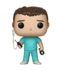 x_fk30878 Stranger Things Funko POP! figura - Bob in Scrubs mérete: ~9cm