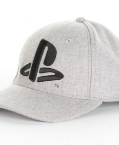 x_pcmba001ps PlayStation - Black Logo Baseball sapka