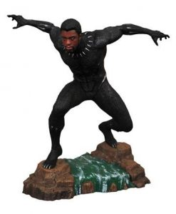 d_diamnov182283 Black Panther Marvel Movie Gallery PVC Szobor - Black Panther Unmasked 23 cm
