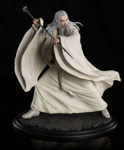 x_weta01667 Hobbit The Battle of the Five Armies Szobor - 1/6 Saruman the White at Dol Guldur 35 cm
