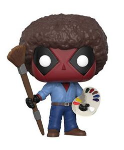 x_fk30865 Marvel Comics Funko POP! Figura - Deadpool Bob Ross