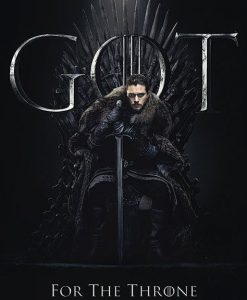 x_pp34491 Game of Thrones poszter - Jon for the Throne 61 x 91 cm