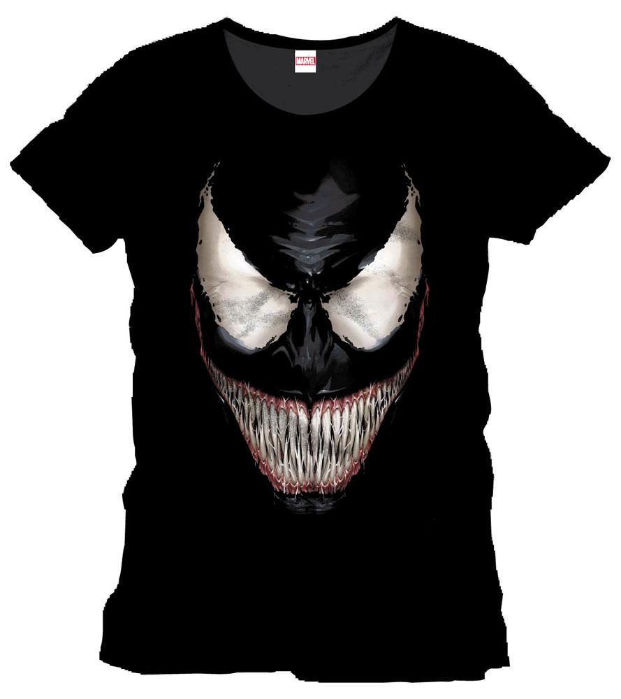 8eb7bfc824 Pókember póló – Venom mosoly | Geekstore