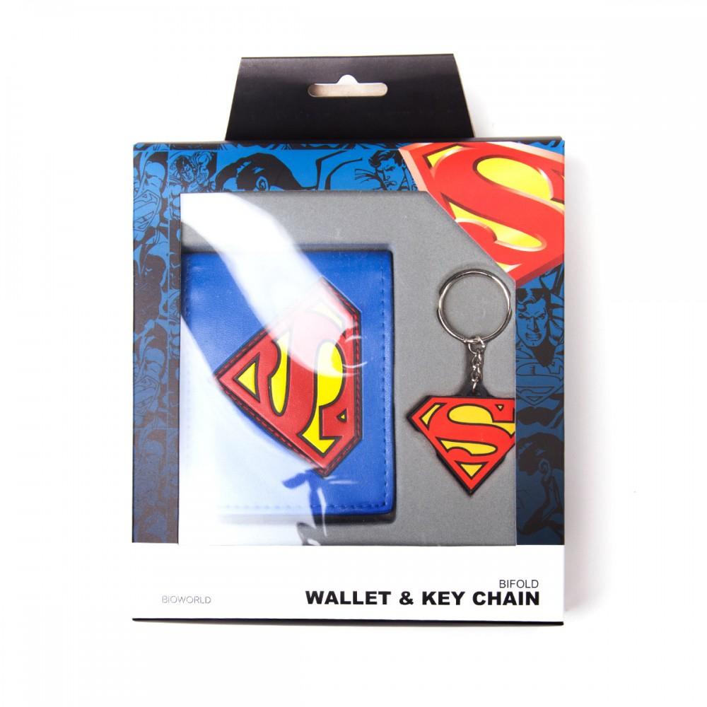 Superman pénztárca és kulcstartó szett 7a78159648