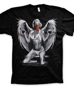 Marilyn Monroe - Gangster With Wings póló