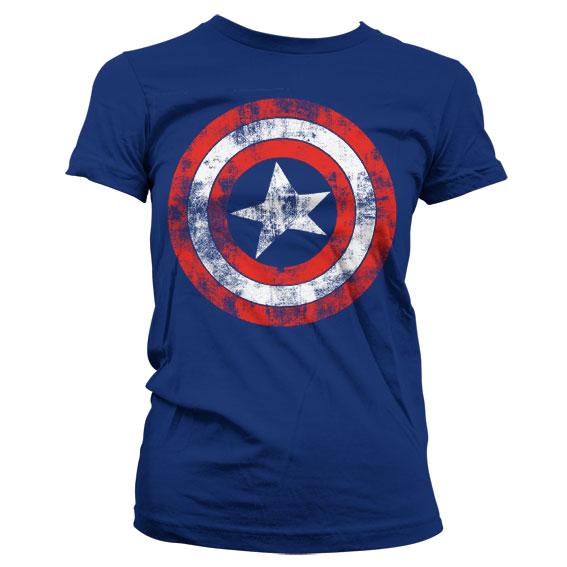 68a069f0d4 Marvel - Captain America Shield női póló   Geekstore