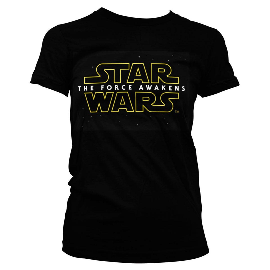 bbf1b40769 Star-Wars - The Force Awakens Logo póló (Női) | Geekstore