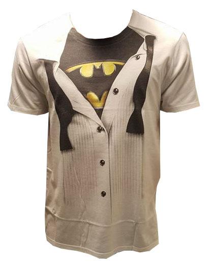 Batman T-Shirt Logo Suit