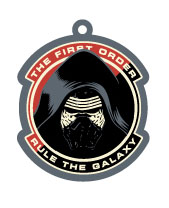 Star Wars Episode VII Rubber Keychain Kylo Ren 6 cm