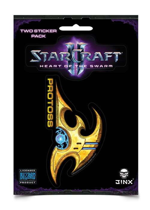 StarCraft II Sticker 2-Pack Protoss