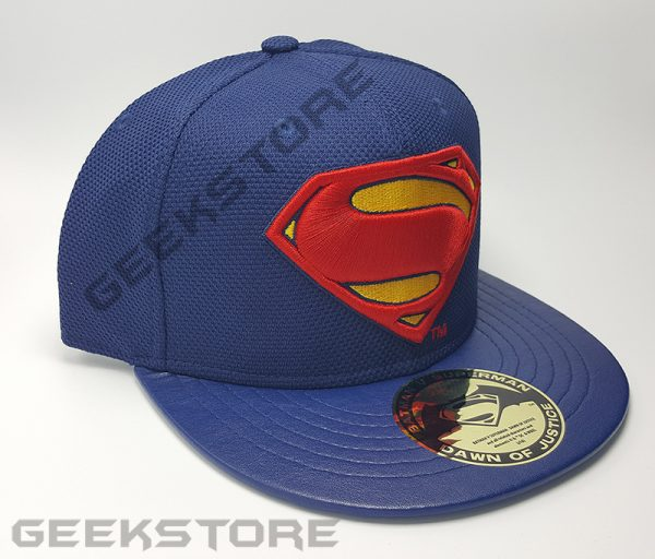 Batman v Superman Dawn of Justice Adjustable Cap Superman Logo