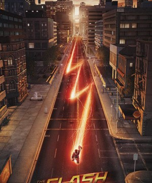 The Flash Poster Pack Lightning 61 x 91 cm