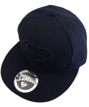 Superman Adjustable Cap Black Logo