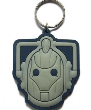 Doctor Who Rubber Keychain Cyberman 6 cm