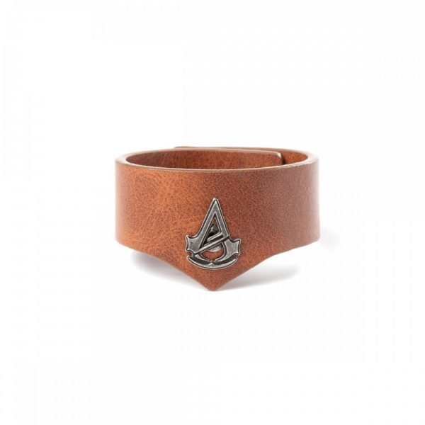 ASSASSIN'S CREED UNITY - PEBBLE GRAIN CUFF WRISTBAND
