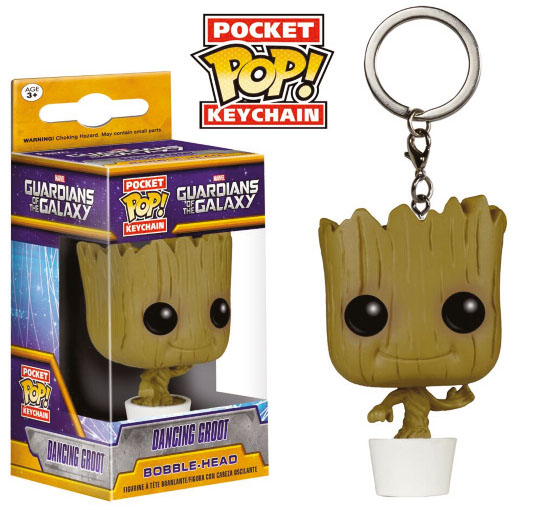 Guardians of the Galaxy Pocket POP! Vinyl Keychain Dancing Groot 4 cm
