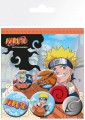 Naruto Pin Badges 6-Pack Uzumaki