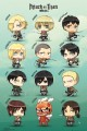 Attack on Titan poszter – Characters