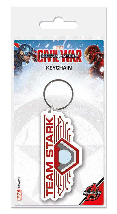 Captain America Civil War kulcstartó - Team Stark