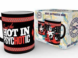 DC Comics Heat Change Mug Harley Quinn Psychotic